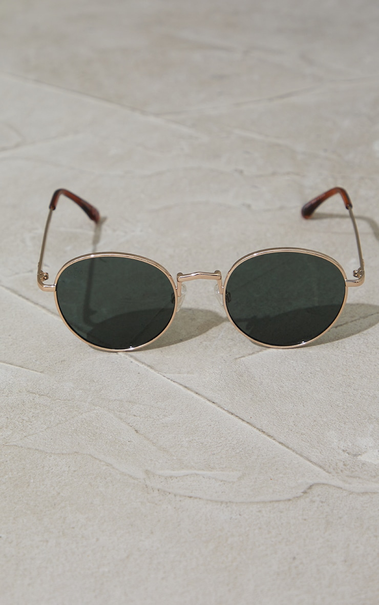 Jeepers Peepers Round Frame Sunglasses 2