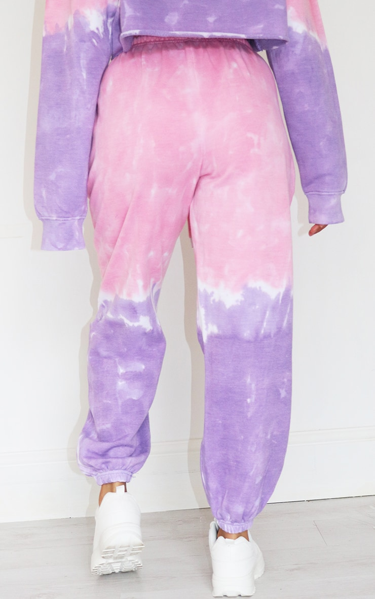 Petite Pink Ombre Oversized Jogger 3