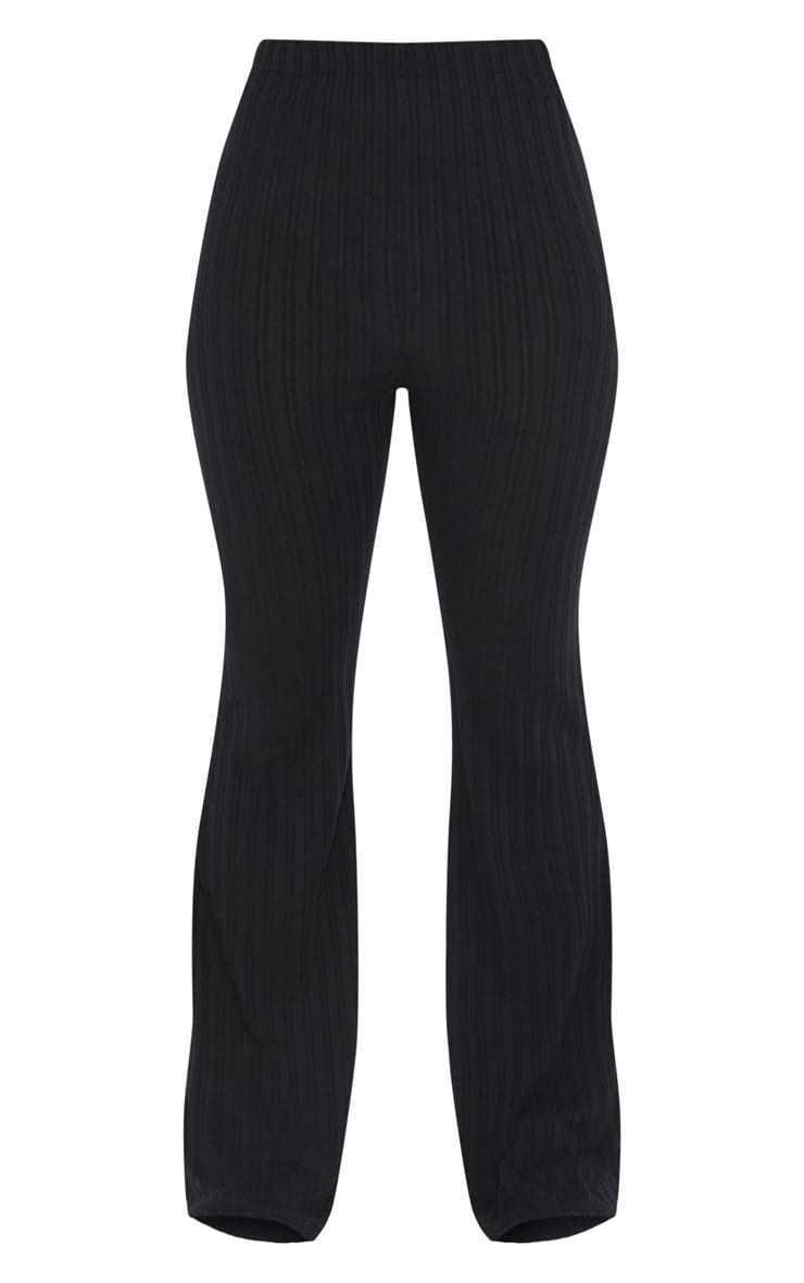 Petite Black Flared Trousers 2