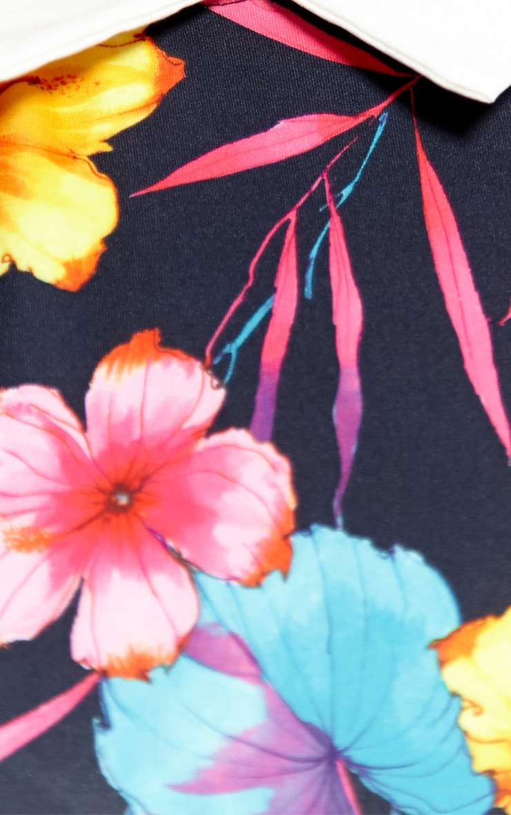 Florence Floral Collar Dress 5