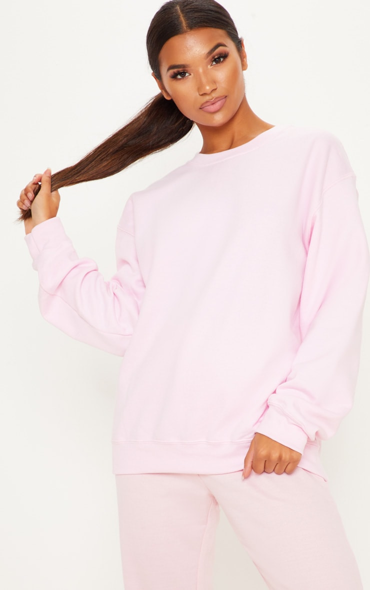 Light Pink Ultimate Oversized Sweater 4