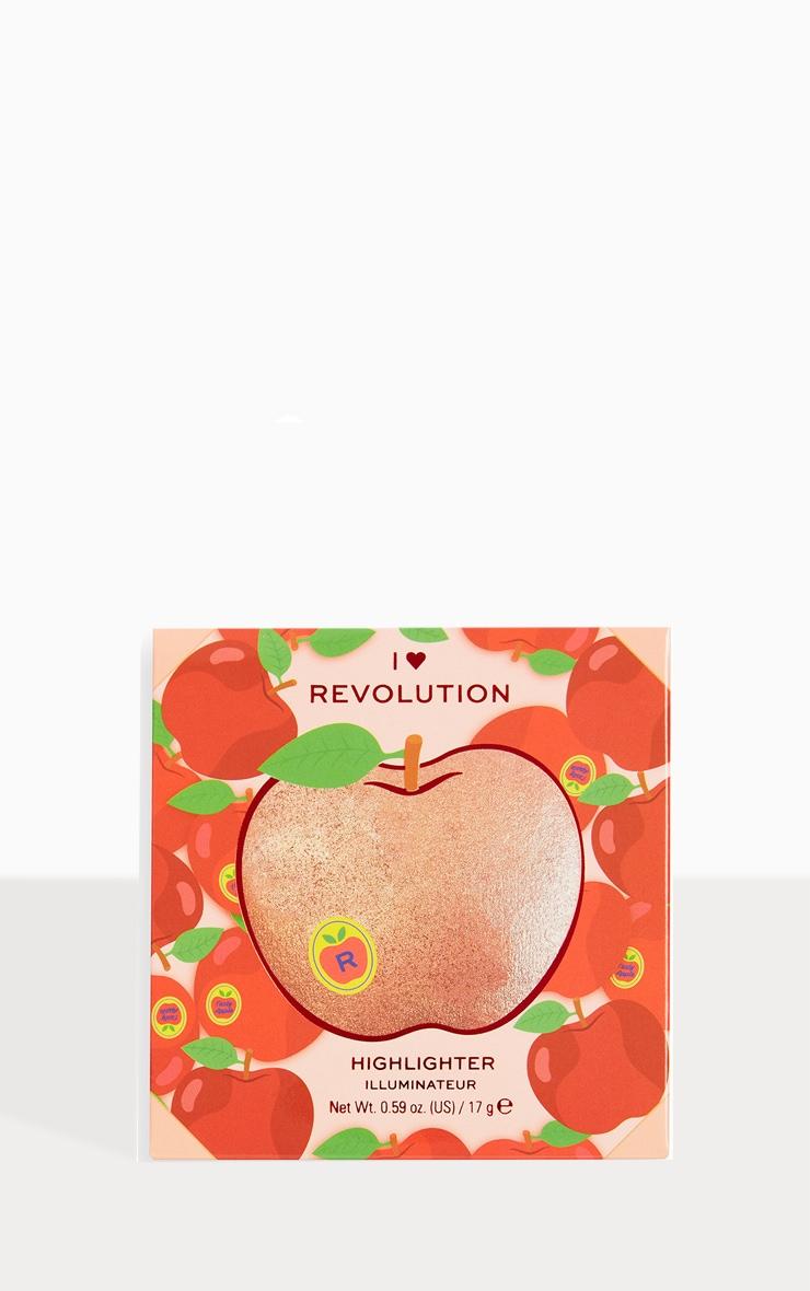 I Heart Revolution Tasty 3D Highlighter Apple 3