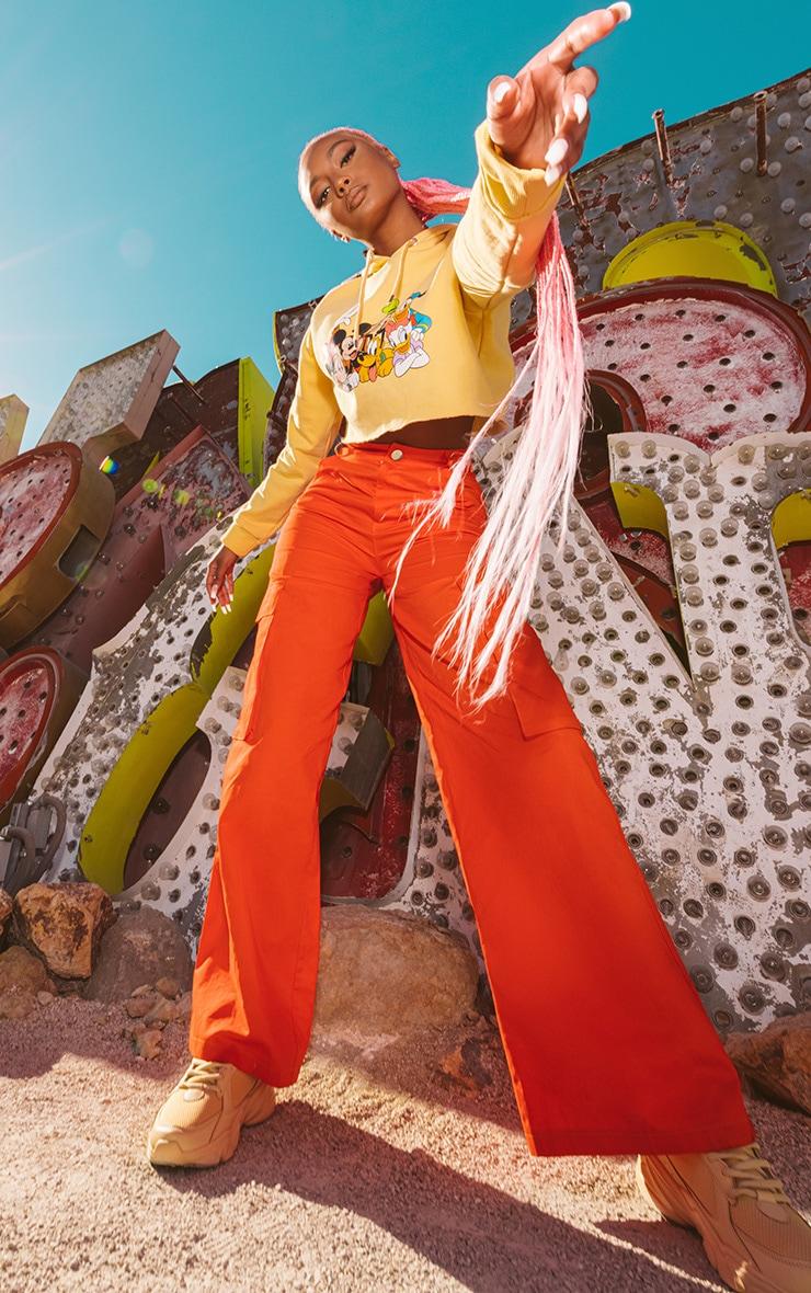 Orange Disney Cargo Pants 1