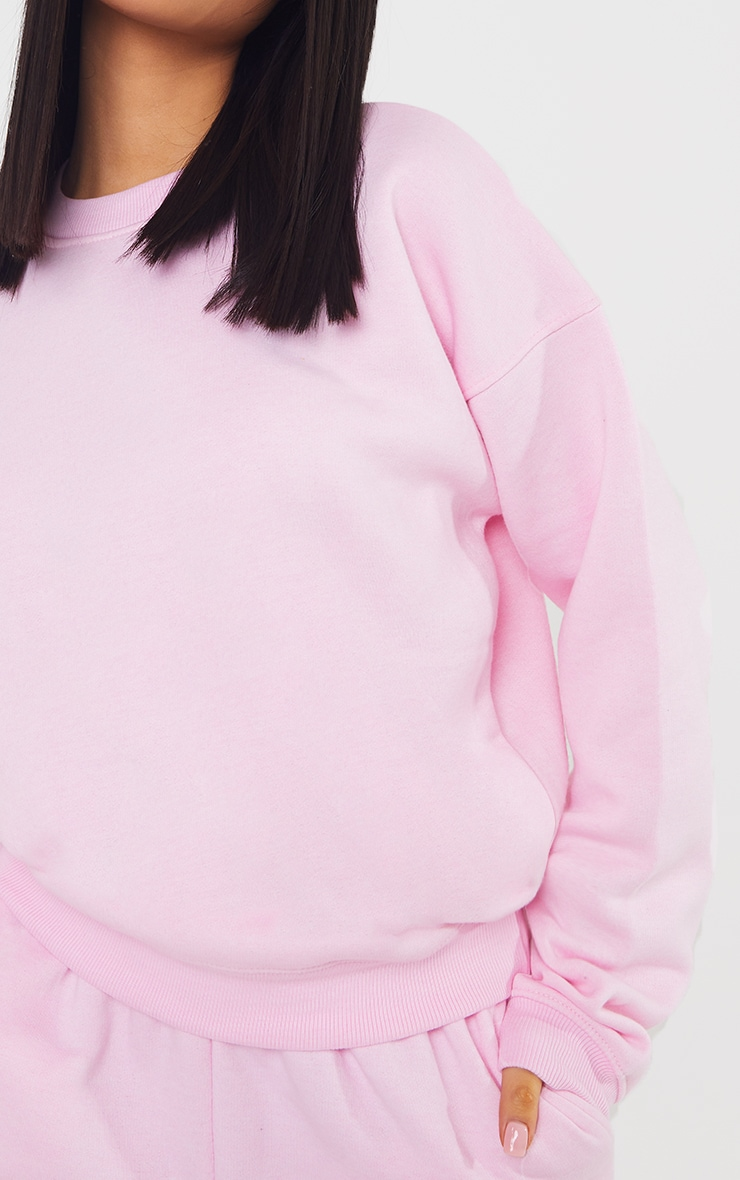 Petite Baby Pink Ultimate Oversized Sweater 4