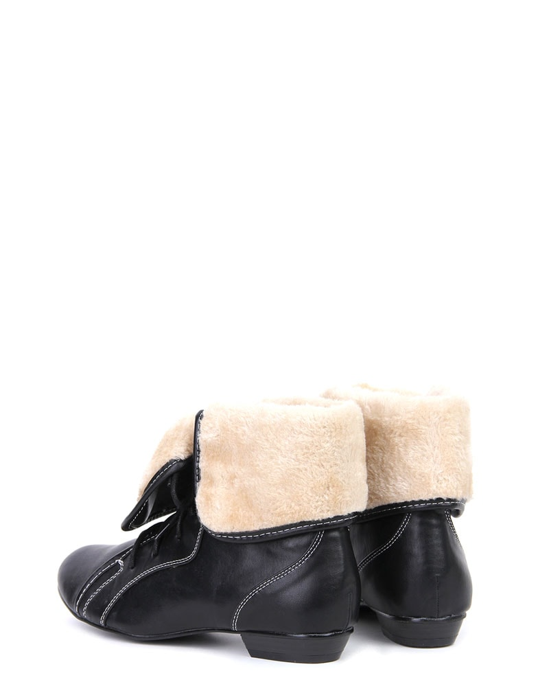 Aila Shearling Lace Up Boots 3
