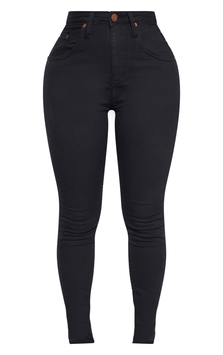Shape - Jean noir super stretch taille basse 3