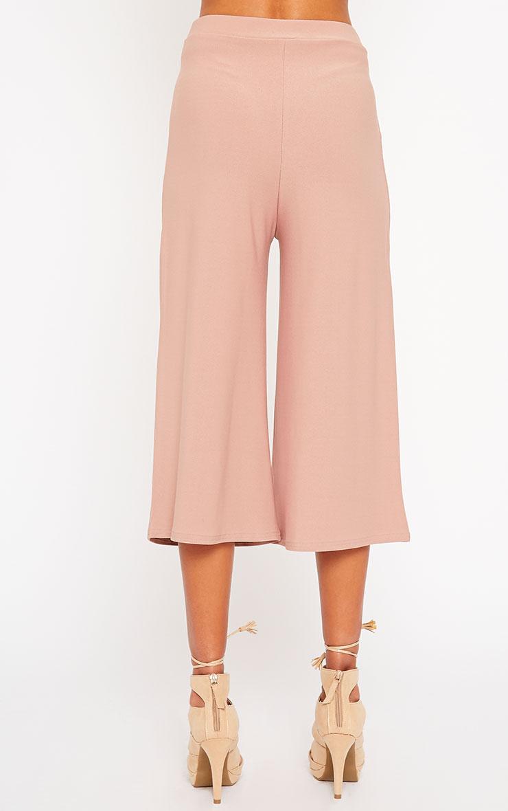 Zafia Dusty Pink Culottes 4