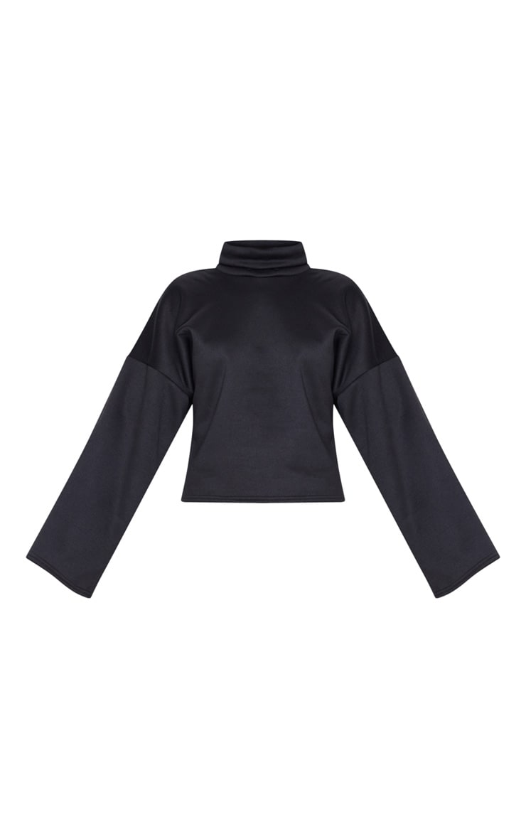 Black Fleece Roll Neck Sweater 3