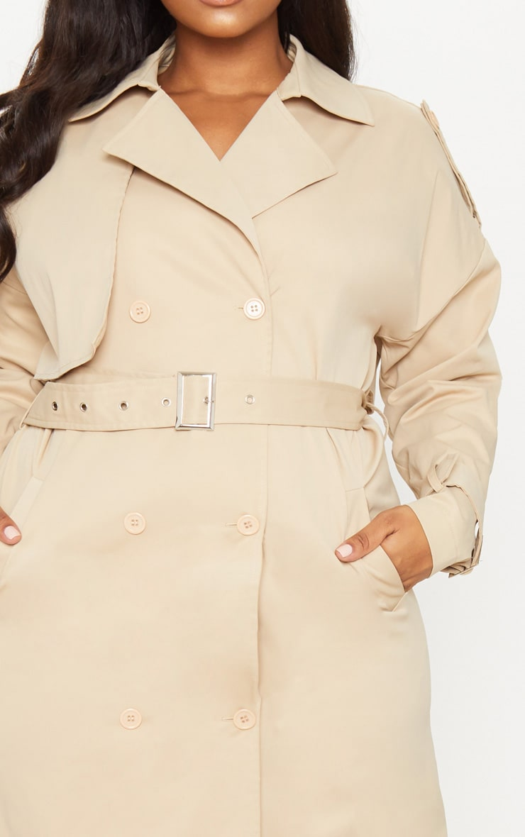 Plus Stone Trench Coat 5