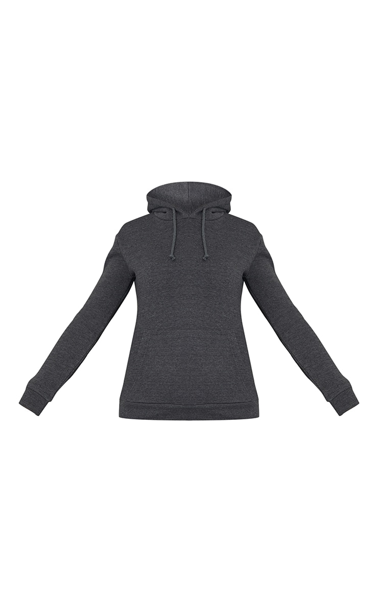 Basic Charcoal Slim Hoodie 5