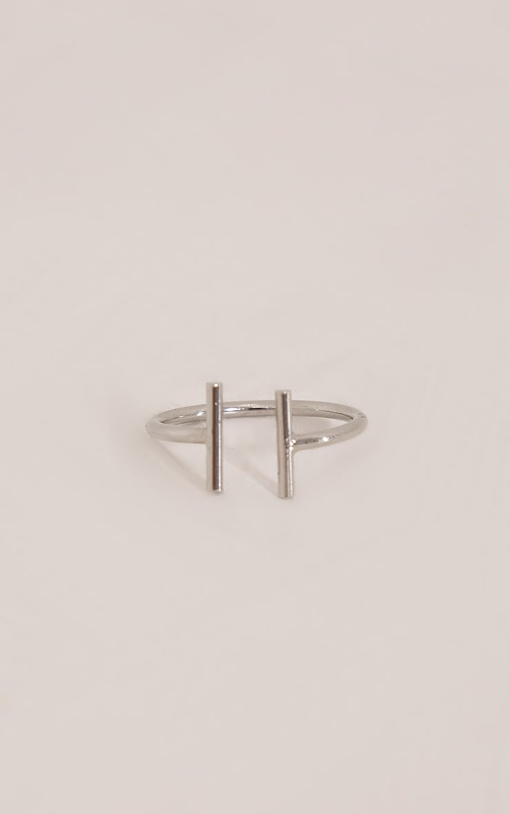 Leani Silver Adjustable Ring 2