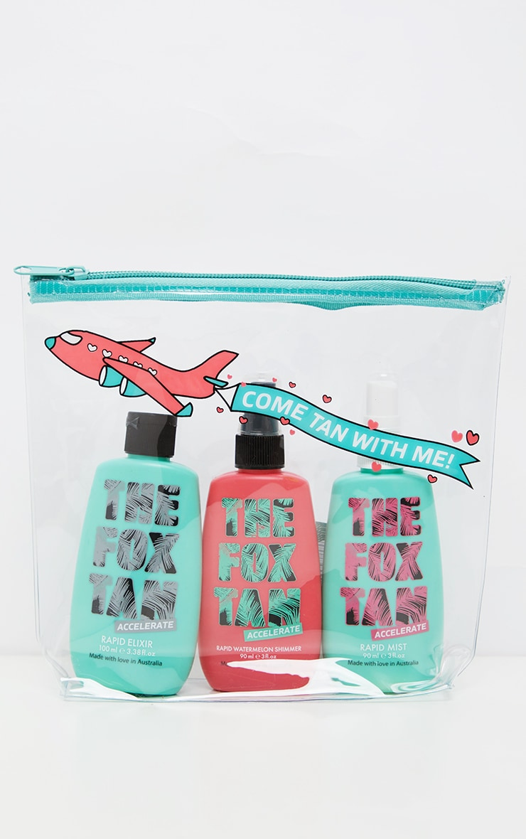 The Fox Tan Jet Setter Bundle 2