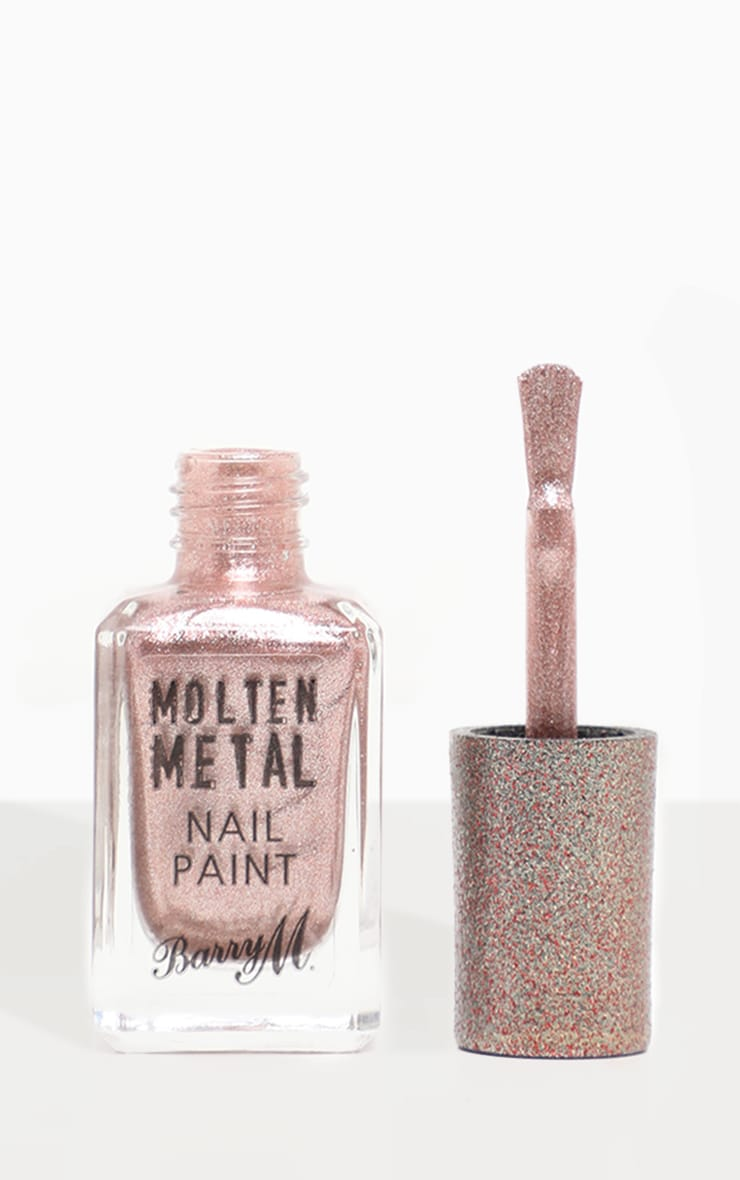 Barry M Molten Metal Pink Ice Nail Paint 3