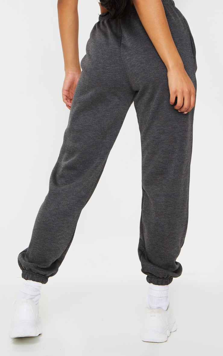 Charcoal Casual Track Pants 3