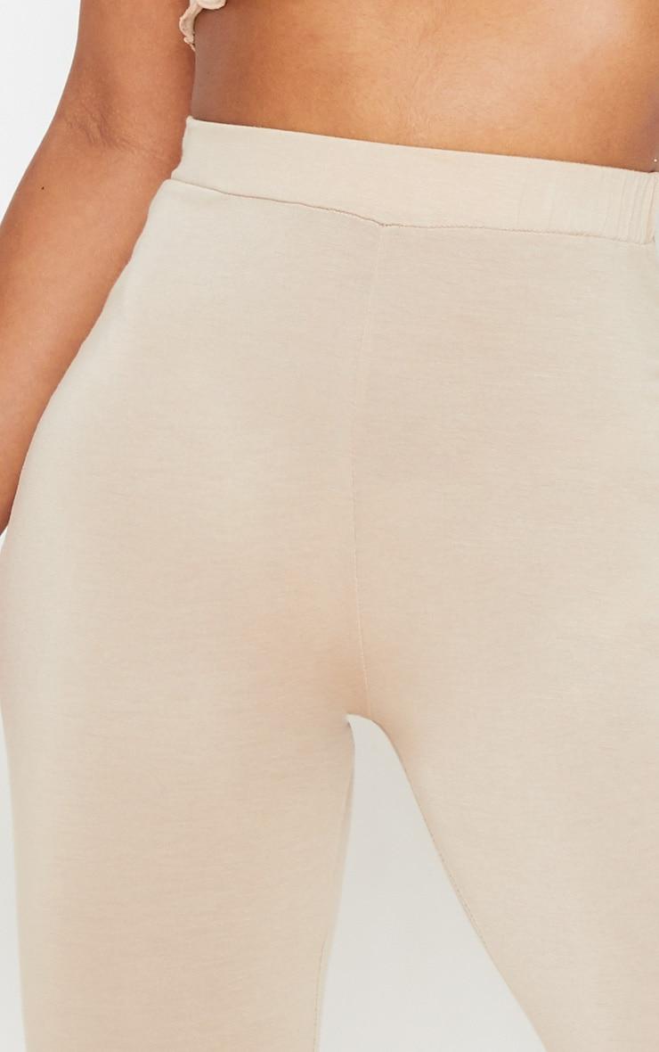 Stone Jersey High Waist Frill Edge Flared Trouser 5