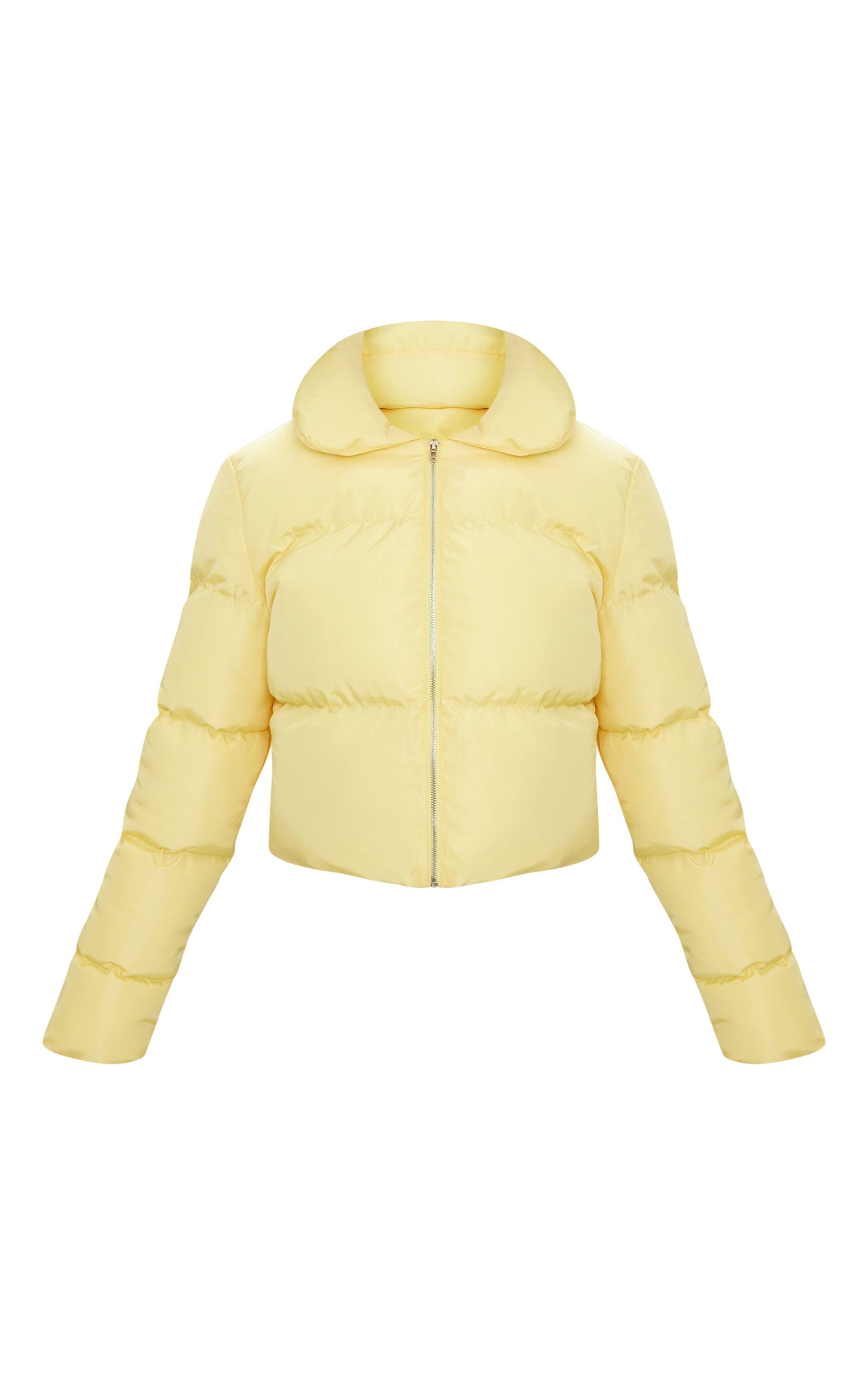 Lemon Cropped Puffer Jacket 3