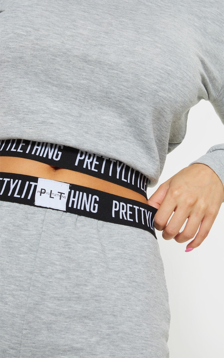 PRETTYLITTLETHING Petite Grey Lounge Jogger 5