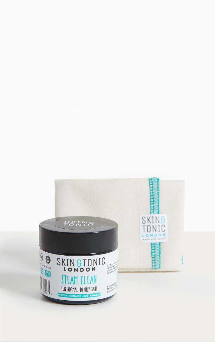 Skin & Tonic London Steam Clean Cleanser & Cloth  1