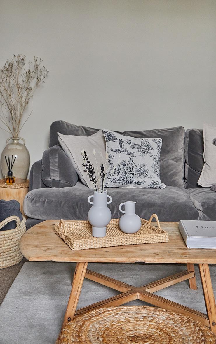 Grey Totem Grey Vase 3