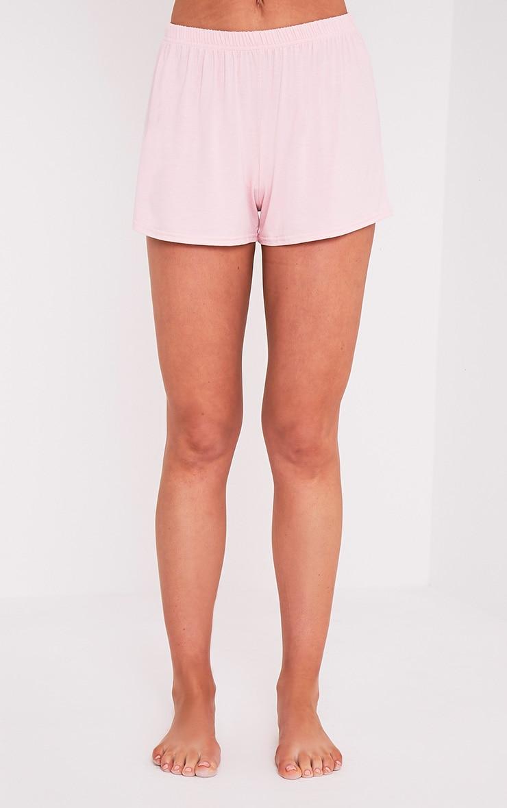 Nicoh Baby Pink Candy Stripe Pyjama Short Set 6