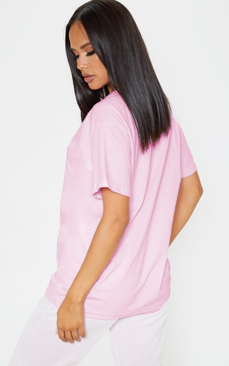 Pink National Prosecco Day Oversized T Shirt 2