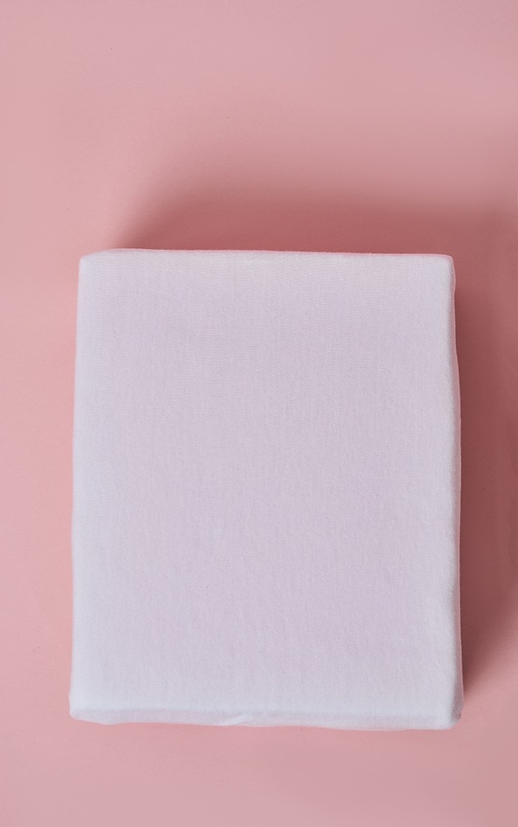 White Jersey Melange King Duvet Set 3