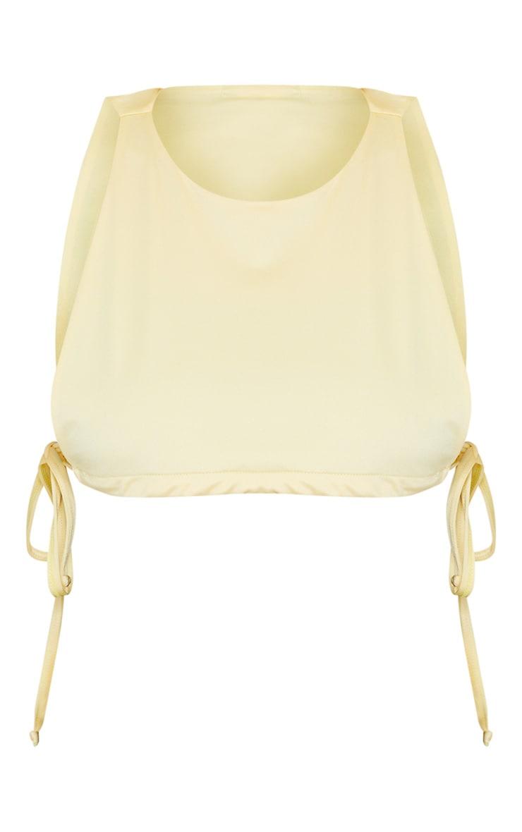 Lemon High Neck Side Boob Bikini Top 5