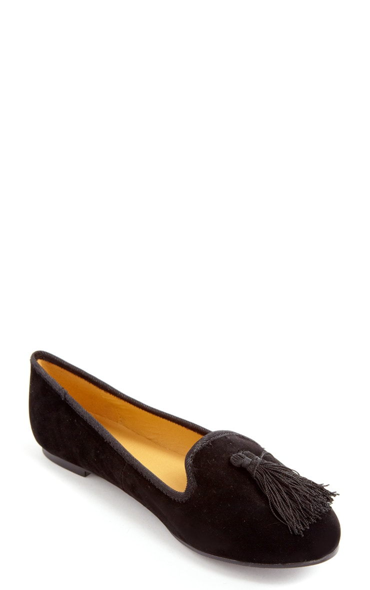 Lydia Black Pumps With Tassel  2
