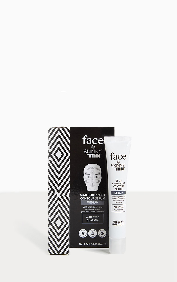 Face By Skinny Tan Medium Semi Permanent Contouring Serum 1
