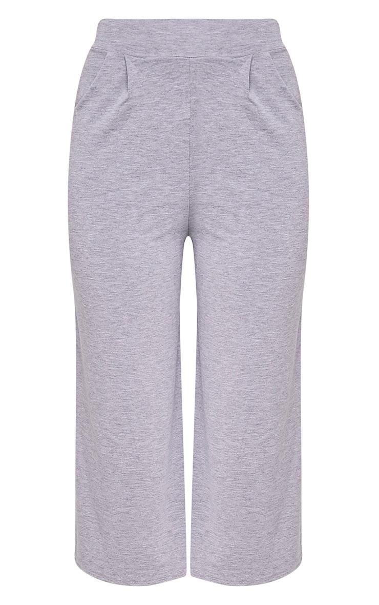 Basic jupe-culotte grise 3