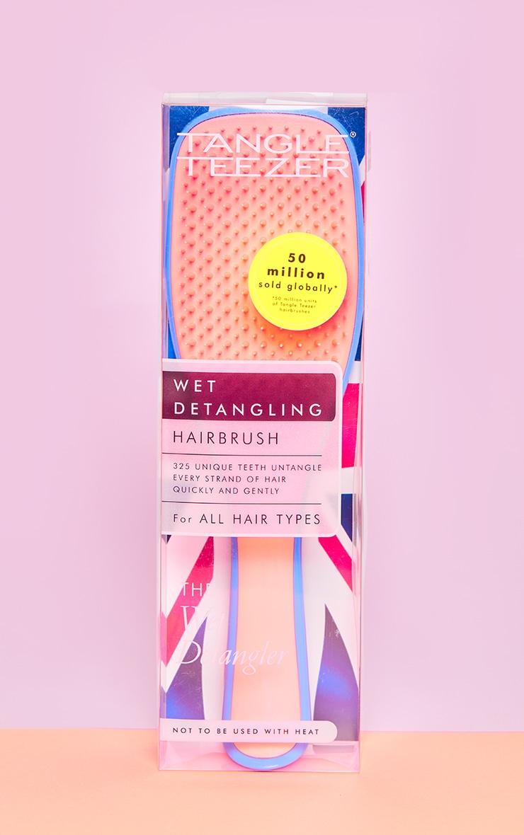 Tangle Teezer Wet Detangler Hairbrush Apricot Blaze 3