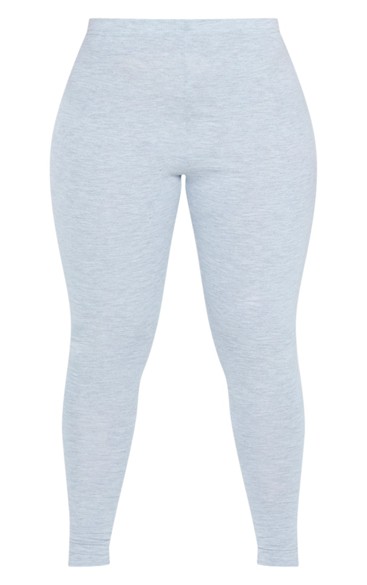 Shape Grey Marl Jersey Leggings 3