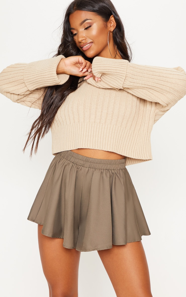 Khaki Floaty Short