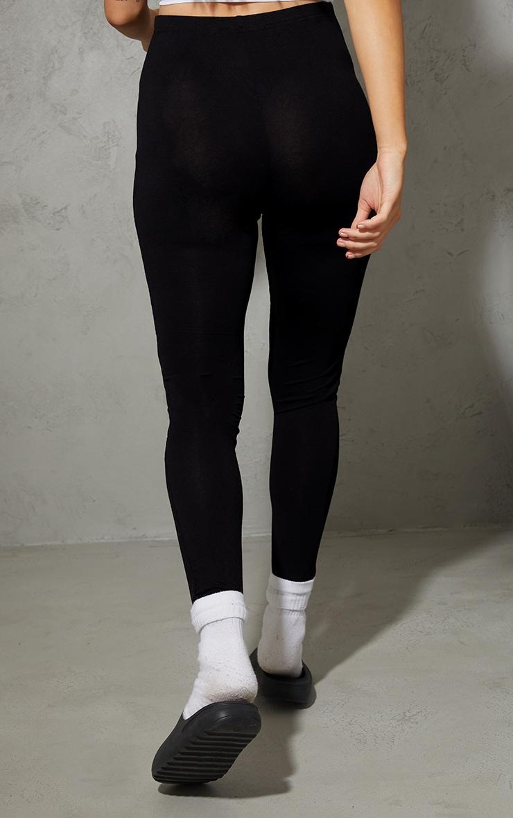 Maternity Black Basic Jersey Flared Pants 3