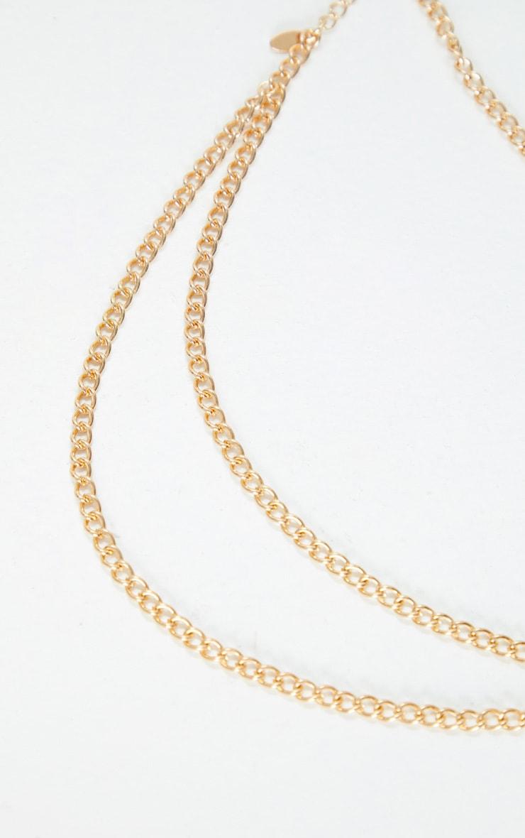 Gold Chain Head Chain 2
