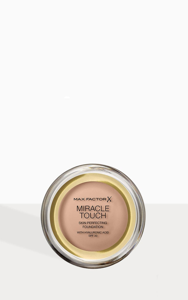 Max Factor Miracle Touch Foundation Warm Almond 1
