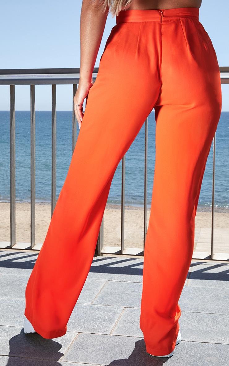 Petite Neon Orange  Beach Flares 4