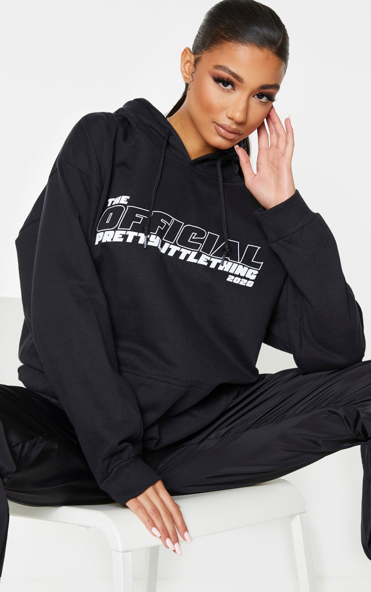 PRETTYLITTLETHING Black The Official 2020 Hoodie 1