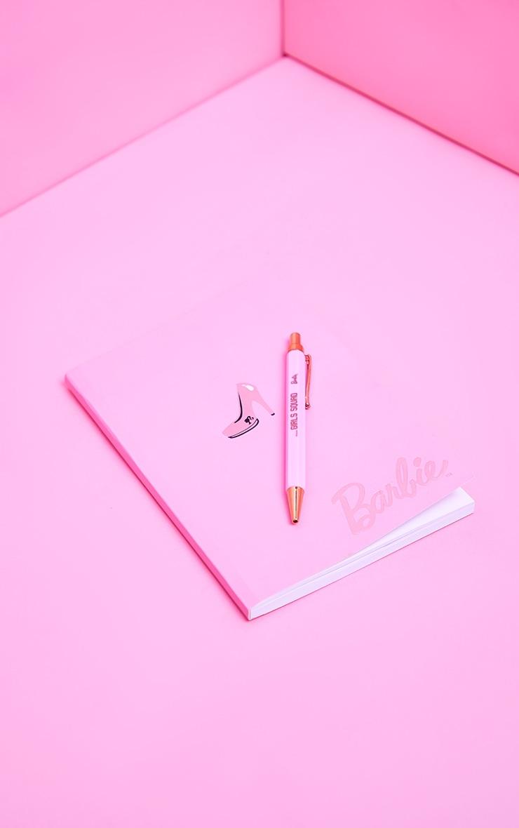 Barbie A5 Pink Notebook 3