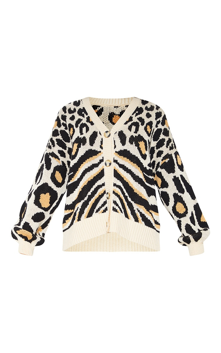 Stone Animal Knit Cardigan  3