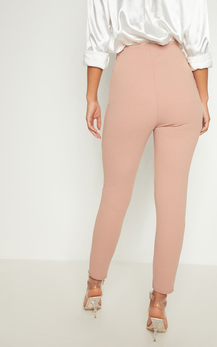 Rose High Waisted Pleated Front Detail Pants 3