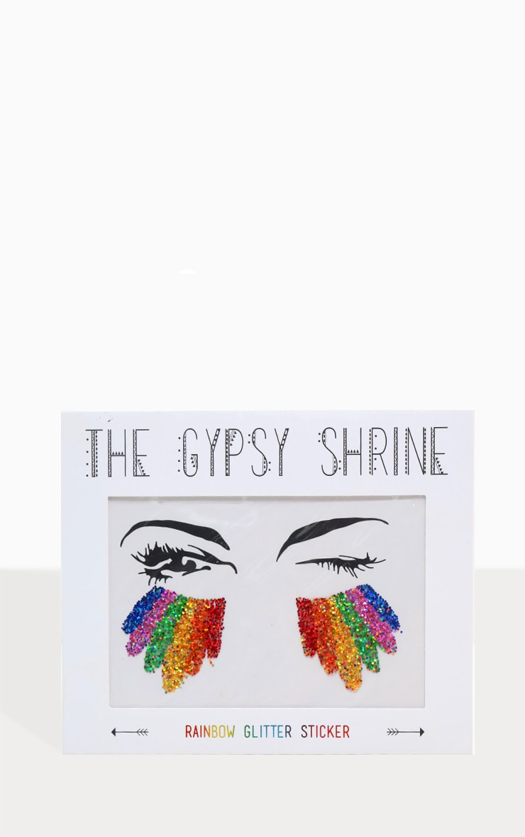 The Gypsy Shrine Rainbow Glitter Sticker 1
