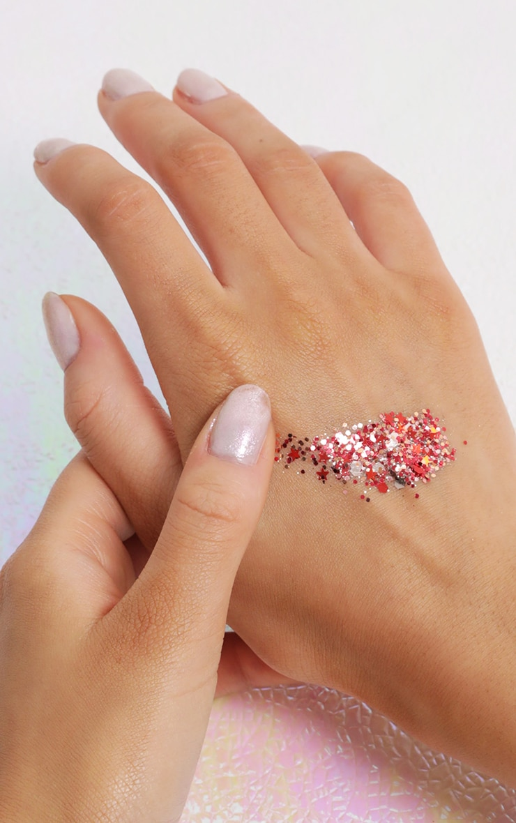 PRETTYLITTLETHING Chunky Copper Glitter 4
