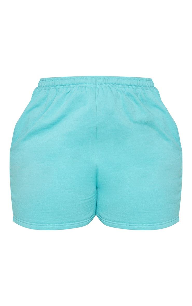 Plus Aqua Sweat Pocket Shorts 6