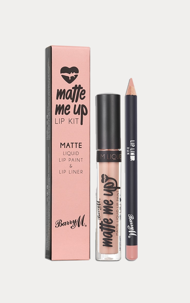 BarryM Limited Edition Matte Liquid Lip Kit Hun 1