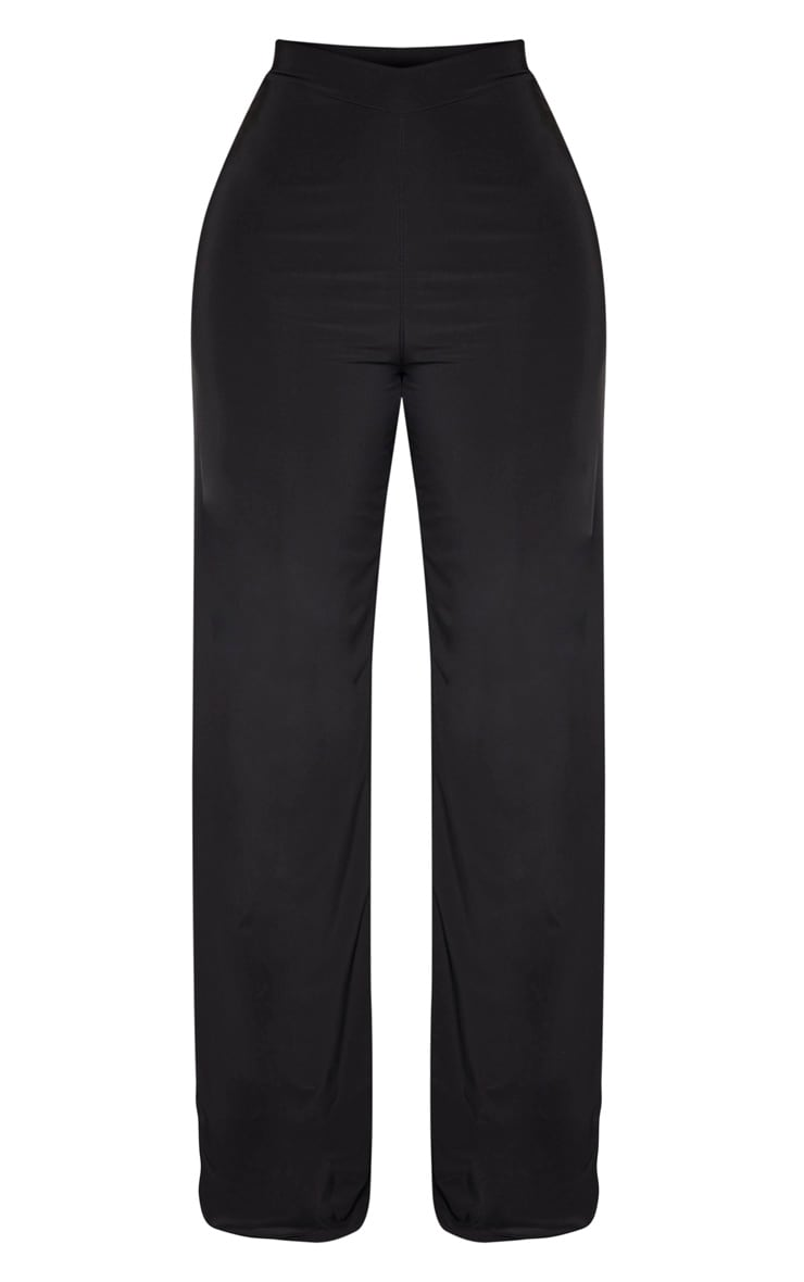Shape Black Slinky Wide Leg Pants 3