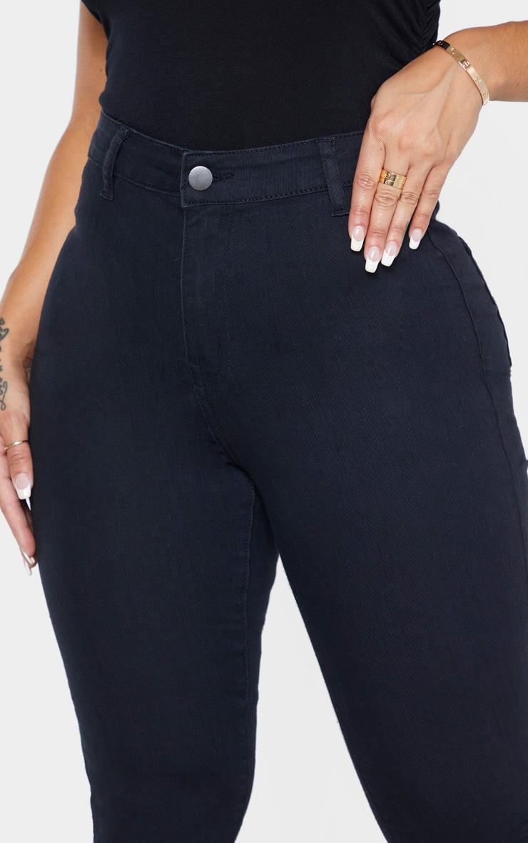Shape Black Disco Skinny Jeans 5