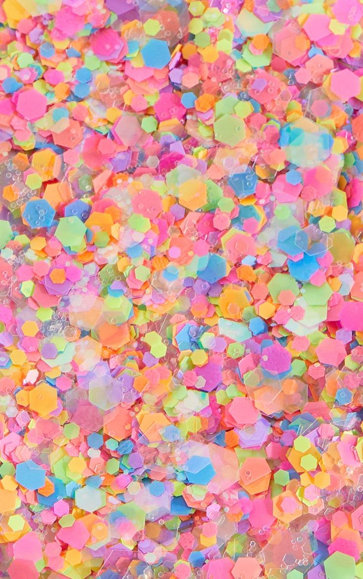 Festival Face Neon Lights Glitter  3