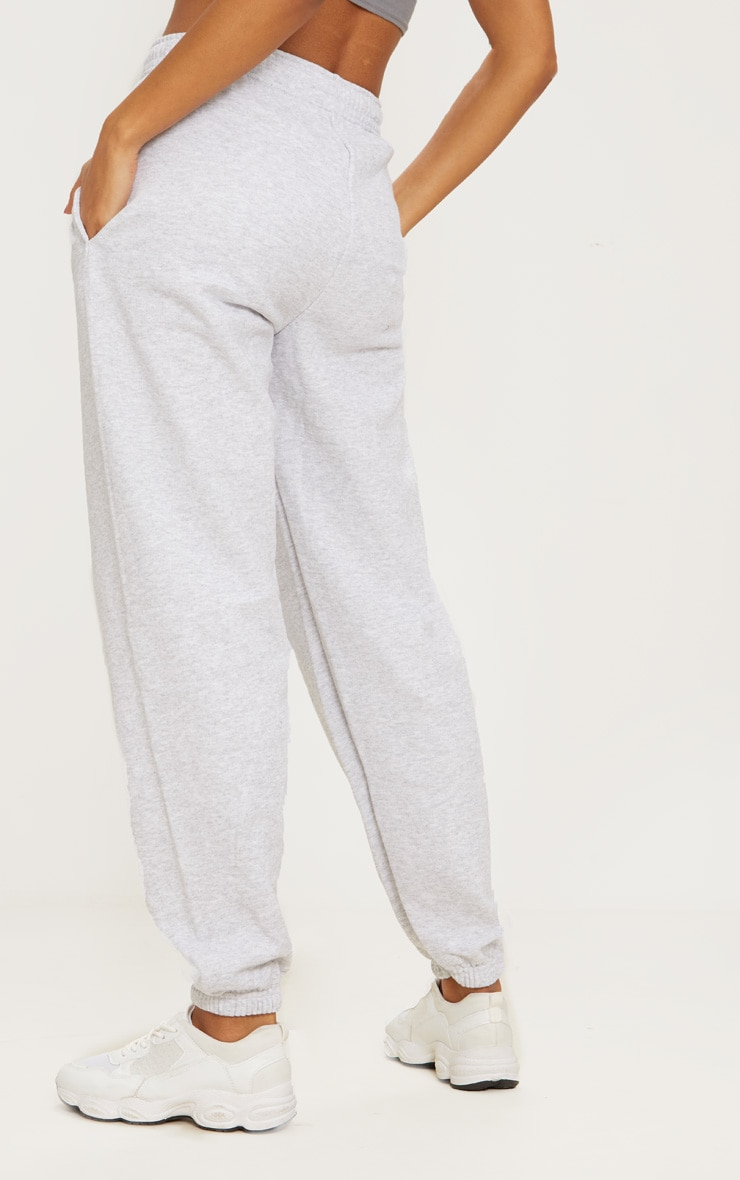 Ash Grey Casual Track Pants 4