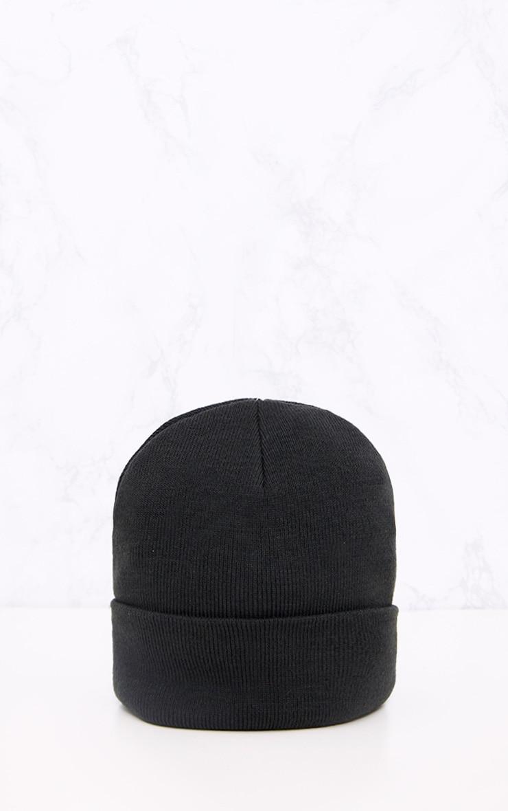 Bonnet noir 3